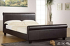 Latest Simple Design Cheap Double Size Faux Leather Bed WSB802