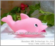 Plastic Vinyl Dolphin Toy /Custom Vinyl Toy For Kids
