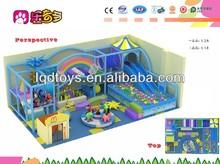 Entertaining Kids Amusement Park Wooden Ship Model