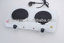 Cooking heater plate