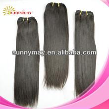 "Silk straight 100%Peruvian virgin hair unprocessed human weaving 8""-24"" hair extension"