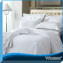 sateen comforter and bedding set striped fabric for making bed sheets