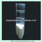 Custom glass boutique display rack