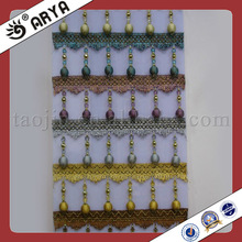 Lace Fringe Curtain in Home and Garden Doors Beaded Curtains for Decorations