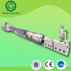 pvc fiber enhancing soft pipe production line