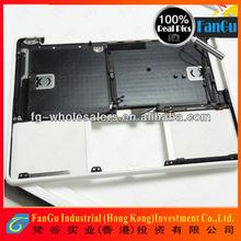 Hot sale Laptop Keyboard For Apple Macbook a1342 with top case,for apple macbook pro ,for macbook aro