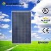 TUV UL CE ISO certificated sunrise 250w pv solar panels