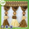 Cheap tassels cheap curtain lace,handmade for curtain lace