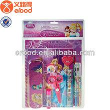 promotion stationery set for girls' school use