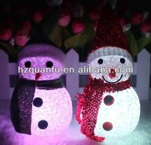 pretty snowman chinese christmas ornaments