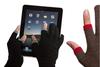 Toque los guantes de cuero de la pantalla Touch smart phone gloves