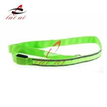 NEW ARRIVAL Reflective dog leash led flash custom led dog leashes