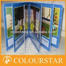 High quality children cardboard book printing