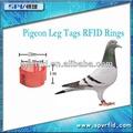 rfid tk4100 paloma de carreras carreras de anillos para el rastreo de animales
