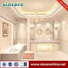 Pink ceramic cheap bathroom wall tile
