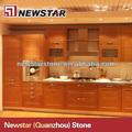 modular de madera maciza agitar gabinete de cocina de diseño