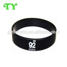 customized dubai style silicone wristbands as the Memorial