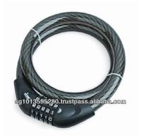 5 Dial Combination Retractable Cable Lock YF21060