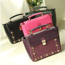 wholesale handbags china ladies fake designer bags vintage studded bag shoulder bag SY285