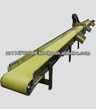 Raw material belt conveyor (reversible)