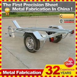 2014 powder coating motorcycle metal cargo trailer