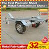 2014 powder coating motorcycle metal cargo trailer