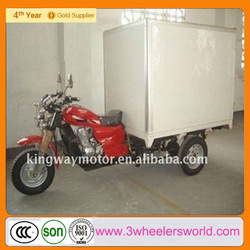 lifan 250cc 3 Wheel Tricycle with Container Box for Ice Cream,green 3 wheel delivery vans,green 3 wheel delivery vans