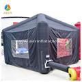 4m por 4m mini black tendas infláveis para eventos