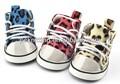 De color beige/bluw/rojo tela anti- el arrastre del animal doméstico ropa ropa de perro productos para mascotas perro zapatos zapatos del animal doméstico en las tallas xs/s/m//l xl