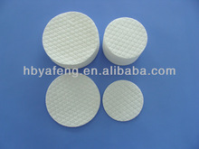 round cotton wool pad for makeup removal