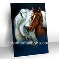 fabricante de porcelana de pared decorativos 3d imagen caballo