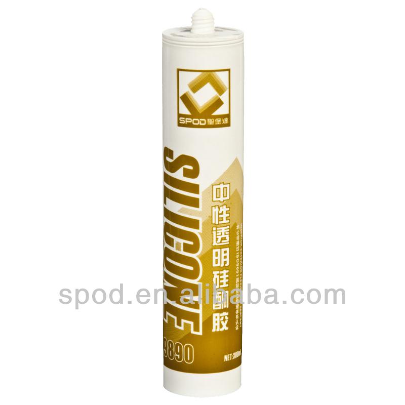 S890 Neutral Cure Silicone Sealant silicone sealant remover
