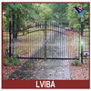 outdoor swing gate and outdoor security metal gates