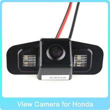 "HD CCD Night Vision rear view camera mirror germid for Honda SPIRIOR, EUROPE ACCORD Car Reversing Rear View Camera 170"""