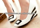 Latest fashion wedges ladies shoes guangzhou