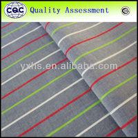 Textiles Woven Yarn Dyed Meryl Spandex Fabric