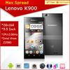 2.0ghz Lenovo k900 13mp camera 5.5'' lenovo dual core 3g mobile