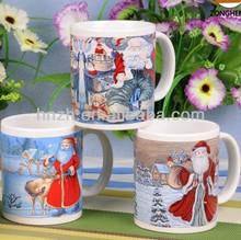 11OZ cheap ceramic snowman gift christmas coffee mug design