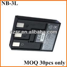 3.7V battery for Canon PowerShot SD550 NB-3L
