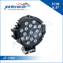 51w flood beam led truck and trailer light led tractor working lights JT-1265