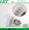 3W LED Light Bulbs,E27/E14 Base,AC 85-245V Input,Ceramic+Glass Housing
