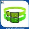 Luxury buckle dog collar hot selling dog hunting collar fluo color