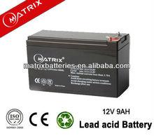 rechargeable travel speaker 12v 9ah 20HR battery