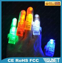 led flashing lamp finger made in china
