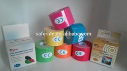 2014 Saferlife Kinesiologie Muscle Tape Waterproof Adhesive Tape Kinesiology Tape