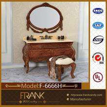 Frank Luxury Rose Wood Bathroom Cabinet F-6666H