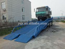 High quality loading dock ramp, Forklift used mobile ramp