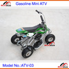 Mini ATV Gasoline 49cc 2 stroke 4 wheels Mini Quad Pull Start ATV-M03