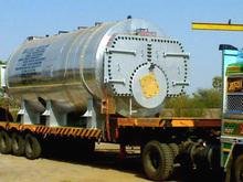 4000kg/hr TPH Oil Cum Gas Fired IBR Steam Boiler.