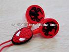 cartoon PVC earbud